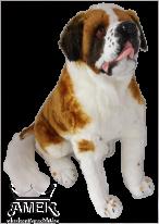 Реалистично куче Санбернар