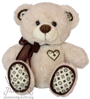 Teddy bear with bow