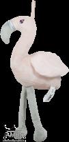 Нежно розово плюшено фламинго