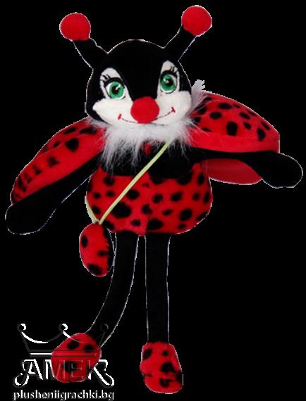Ladybug with purse