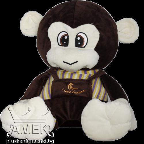 Маймунка с раирана блузка