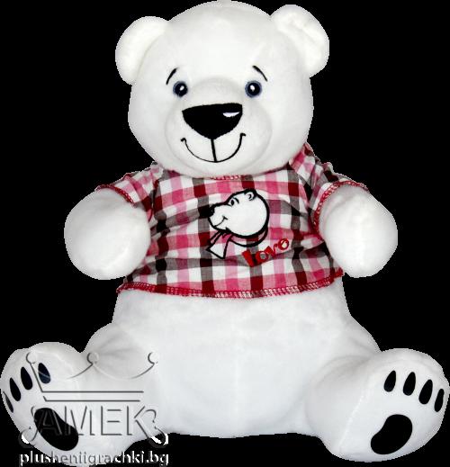 Полярна мечка с блузка