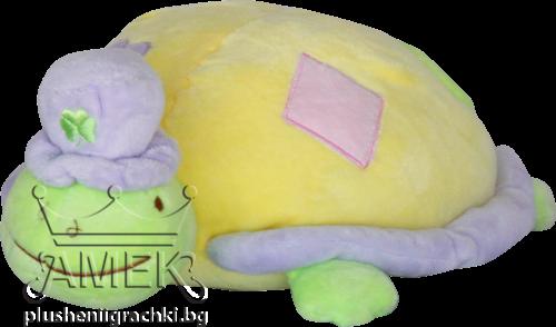 Костенурка с шапка
