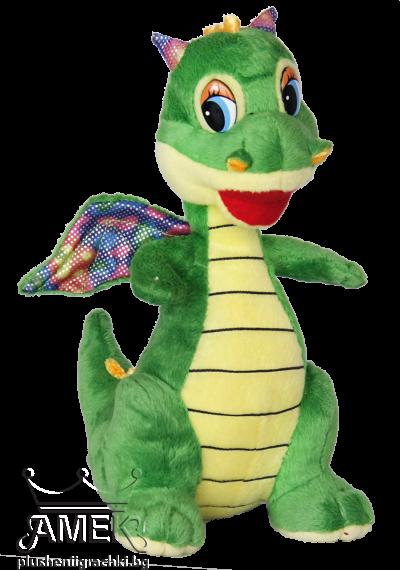 Динозавър с цветни крила
