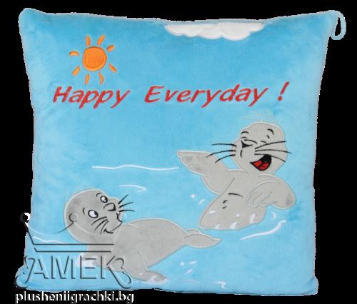Морска възглавница с тюлени