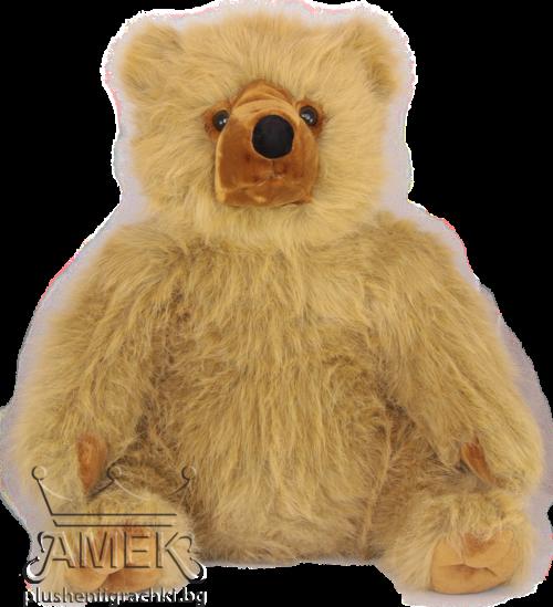 Плюшена реалистична  мечка