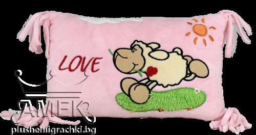 Възглавница| Овчица с роза