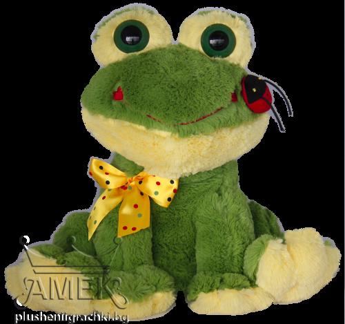 Жаба с калинка