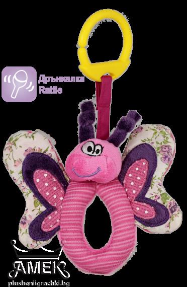 Бебешка дрънкалка пеперуда