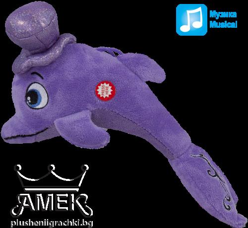 Делфин с шапка