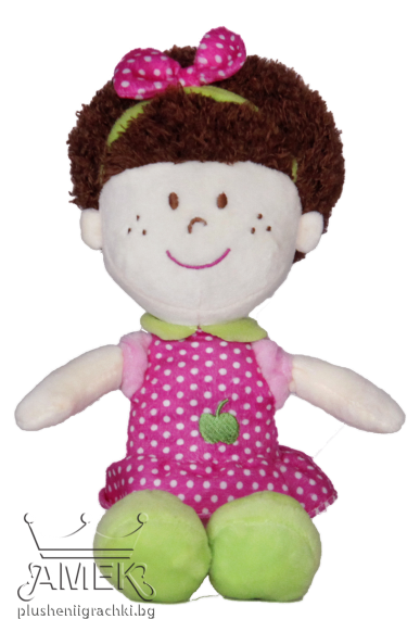 Пюшена кукла с диадема| 3 цвята