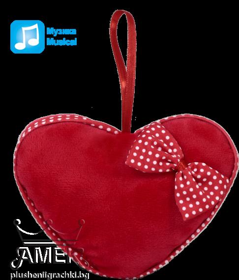 Червено плюшено сърце| 3 вида