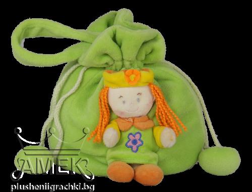 Торбичка с кукла