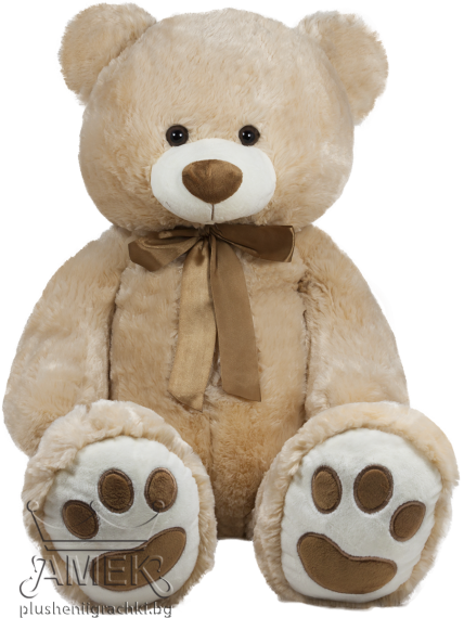 Bear with a satin bow| 2 colours