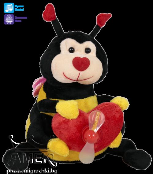 Интерактивна играчка  Пчела или калинка