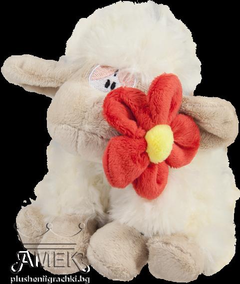 Овца с цвете| 3 цвята
