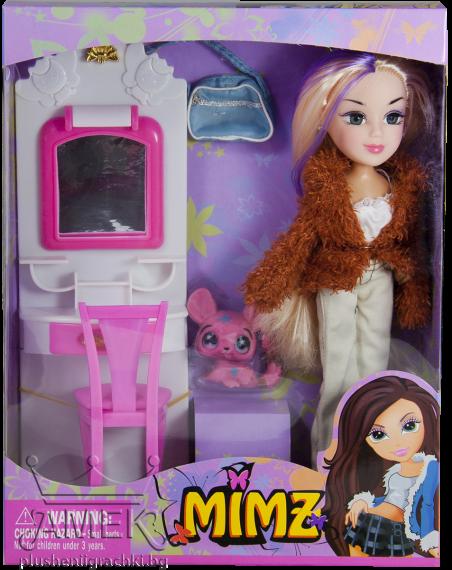 Кукла МИМЗ с тоалетка  4 вида