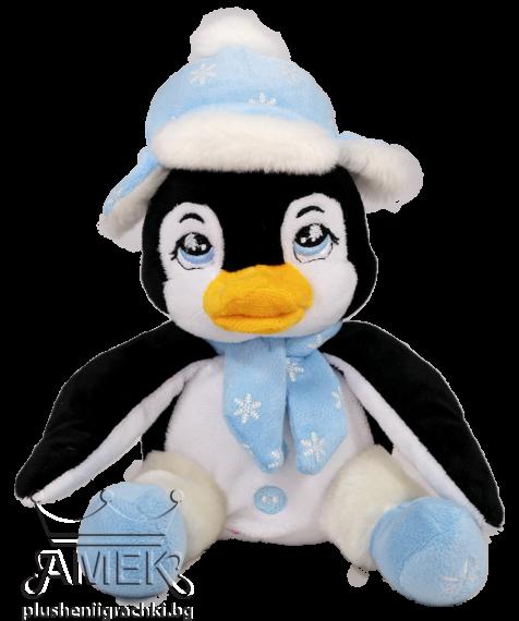 Пингвин с ушанка| 3 цвята