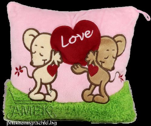 Розова възглавница| 2 вида