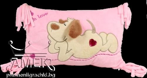 Възглавница с куче