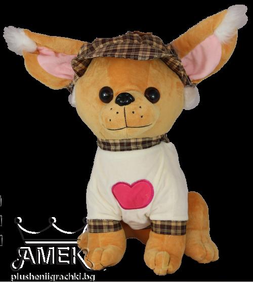 Куче с шапка и блузка| 2 цвята