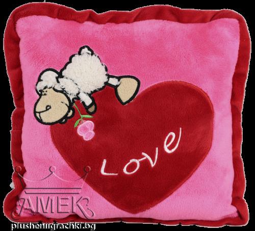 Възглавница с овчица| 2 цвята