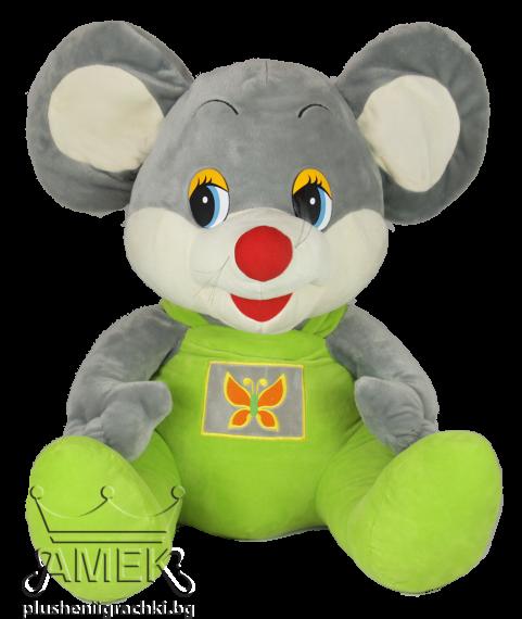 Мишка с гащeризон| 2 цвята| 60 см