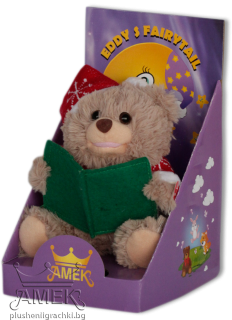 Storyteller teddy bear - small