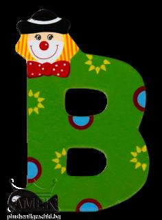 Декоративна дървена буква - В