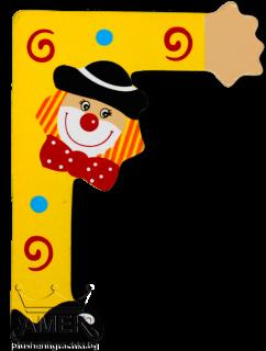 Декоративна дървена буква - Г