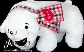 Полярна мечка с шал