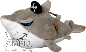 Плюшена  акула пират