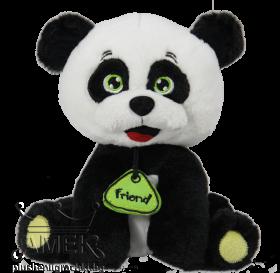 Панда с медальон