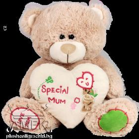 """Мече със сърце """"Special mum"""""""