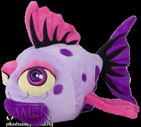 Лилава рибка