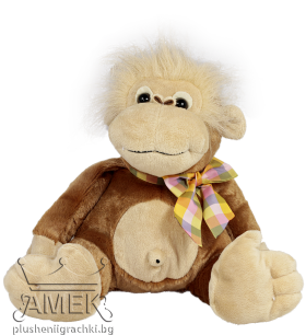 Monkey with bow| 24 cm