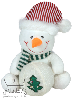 Snowman with hat