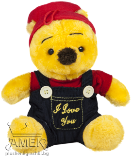 Bear with overalls| 22cm