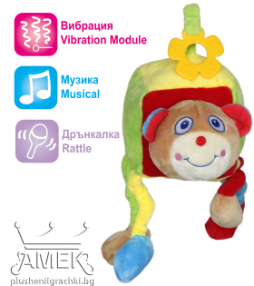 Baby active cube with sound and rattle