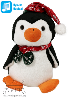 Penguin with christmas hat