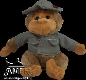 Маймунка с яке с шапка