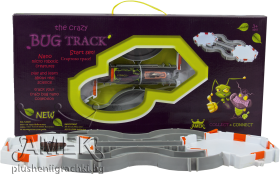 Racing track with crazy bug