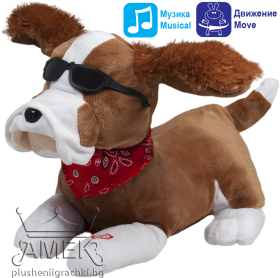 Singing dog - interactive toy