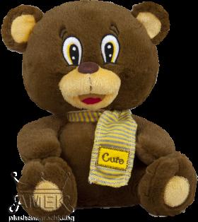 "Teddy bear with scarf ""Cute"""