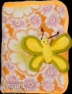 Тетрадка с калъф - Пеперуда| 6 цвята