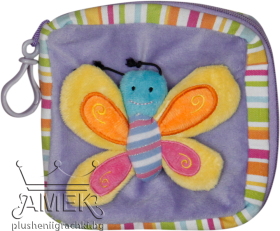 CD case with butterfly