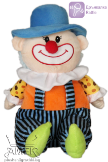 Clown with a hat