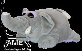 Plump animal - panda or elephan