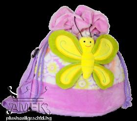 Раница с пеперуда| 6 цвята