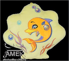 Dolphin pillow